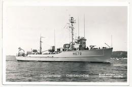 CPSM - Dragueur-côtier CHRYSANTHÈME - Guerre
