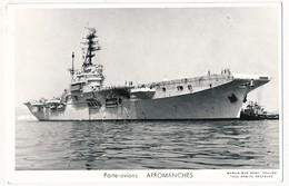 CPSM - Porte-avions ARROMANCHES - Guerre