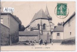 QUERRIEU- L EGLISE- ANIMEE - Sonstige Gemeinden
