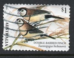 2018 AUSTRALIA BIRD Finch VERY FINE POSTALLY USED  $1 BOOKLET Stamp - Oblitérés