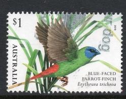 2018 AUSTRALIA BIRD PARROTFINCH VERY FINE POSTALLY USED $ SHEET Stamp - Oblitérés