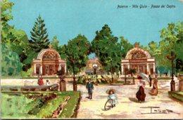 Italy Palermo Villa Giulia Piazza del Centro