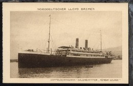 Dampfer Königin Louise - Paquebote