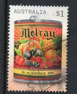 2018 AUSTRALIA Vintage Jam Labels - Melray VERY FINE POSTALLY USED $1 SHEET Stamp - Oblitérés
