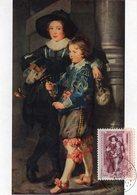 N° 505 Rubens Sur Carte-maximum - Maximum Cards
