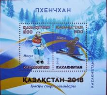 Kazakhstan  2018 Sport.    Olympic Winter Games Pyeongchang    S/S  MNH - Kazakhstan