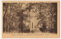"""CPA - GAREOULT / FORCALQUEIRET (Var) - Restaurant """"le Pavillon"""" - La Villa - Altri Comuni"""