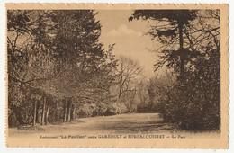 """CPA - GAREOULT / FORCALQUEIRET (Var) - Restaurant """"le Pavillon"""" - Le Parc - Altri Comuni"""