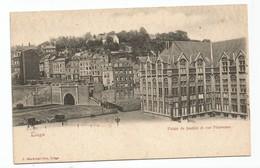 Liège Palais De Justice Et Rue Pierreuse - Liege
