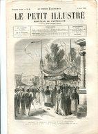 Réception De L'Empereur Maximilien Et De L'impératrice CHAM 1864 - Journaux - Quotidiens