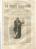 Le Maréchal De Mac-Mahon, Duc De Magenta, Gravure En Couverture Et Un Article - Journaux - Quotidiens