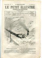 Train Bloqué Dans La Neige Entre Narbonne Et Carcassonne1865 - 1850 - 1899