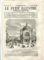 La Nouvelle église Saint-Augustin Boulevard Malesherbes  1865 - Journaux - Quotidiens