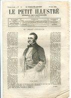 Isaac PEREIRE 1865 - Journaux - Quotidiens