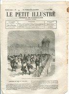 Incendie De L'orphelinat De La Providence à Constantinople 1865 - Journaux - Quotidiens