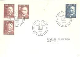 POSTMARKET  SUECIA  1959 - Química