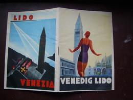 Venedig Lido Booklet /cover:Marcello Dudovich, G. Scarabellin - Venice