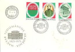 FDC  HUNGRIA  1975 - Química