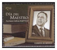 2018 MÉXICO DÍA DEL MAESTRO Profesor RAMÓN GUILLERMO BONFIL VIVEROS, MNH TEACHER'S DAY, EDUCATION - Mexico