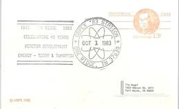 POSTMARKET USA  1983 - Atomo