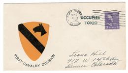 19150  - OCCUPIES TOKIO - Covers & Documents