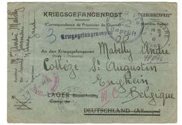 19156 - STALAG  VI C BATHORN - Postmark Collection (Covers)