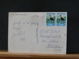 A9646A   CP  SENEGAL POUR LA BELG. - Senegal (1960-...)