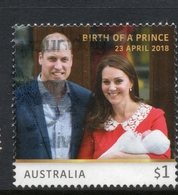 2018 AUSTRALIA Birth Of Prince Louis Of Cambridge VERY FINE POSTALLY USED $1 Sheet STAMP - Oblitérés