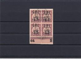 Samoa: MiNr. GRJ, MiNr. 8, Vierblock, Gestempelt Vom Unterrand - Colonia: Samoa