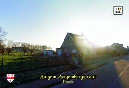 Set 12 Cartes Postales, Transport, Belgium, Aaigem, Bus Stations - Autobus & Pullman
