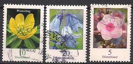 Deutschland  (2017)  Mi.Nr.  3314 + 3315 + 3296  Gest. / Used  (8fe15) - Used Stamps
