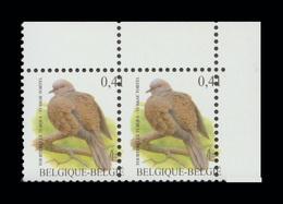 COB N° 3135 (Oiseau - BUZIN) ; 0,41€ - Curiosité :   Piquage (Dentelure) Décentré(e) - Variétés Et Curiosités