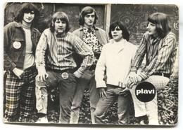 VIS KAMELEONI - Koper Slovenia, Beat & Rock Music 1960s, Original Signature, Old Photo PC - Musique Et Musiciens