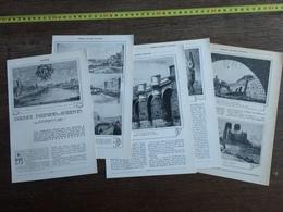 1909 JST TABLEAUX PARISIENS D AUTREFOIS QUAIS DU VIEUX PARIS - Vieux Papiers