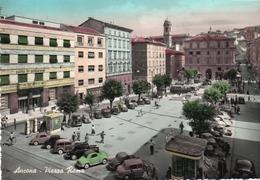 ANCONA-PIAZZA ROMA-VIAGGIATA 1957 F.G - Ancona