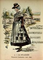 87 - En Limousin - Au Temps Jadis - 5 - La Délaissée - Paysanne Limousine Vers 1850 - France