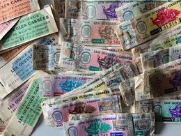 Loterie Nationale / Les Gueules Cassées / + De 200 Billets Années 1955/56 (au Profit Des Blessés De Guerre) - Billets De Loterie
