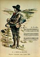 87 - En Limousin - Au Temps Jadis - 8 - Sur La Route - Paysan Limousin Sous Louis XIV - France