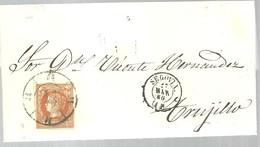 LETTER 1860  SEGOVIA  A TRUJILLO - Briefe U. Dokumente