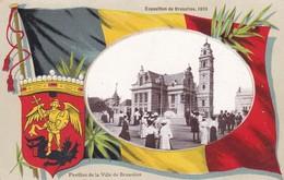 Exposition 1910 Pavillon De La Ville De Bruxelles - Universal Exhibitions