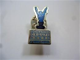 PINS DONATION GROUPE ANDRE & HUBERT AURIOL / 33NAT - Badges