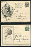 Deutsches Reich / 4 Sonderpostkarten O (18826-20) - Allemagne