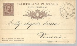 CARTOLINA POSTALE  CONEGLIANO  1880 - 6. 1946-.. Repubblica