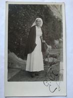 Carte Photo INFIRMIÈRE Guerre 1914-1918 - TBE - Croix-Rouge