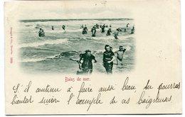 CPA - Carte Postale - Belgique - Ostende - Bain De Mer - 1899 (B9136) - Oostende