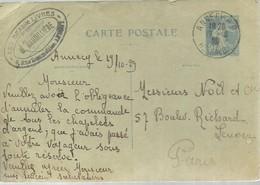 CARTE POSTALE  1929  ANNENCY - Enteros Postales
