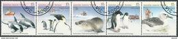 AUSTRALISCHES ANTARKTIS TERRITORIUM AAT 1988 Mi-Nr. 79/83 O Used - Aus Abo - Unused Stamps