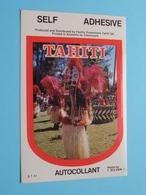 TAHITI - Autocollant Self Adhesive ( Photo T. SYLVAIN - S.T.56 ) ( See/voir Photo / Format Total 8 X 12 Cm. ) ! - Autocollants