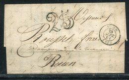 """Frankreich / 1851 / Brief K2-Stempel RIOM, L1-Stempel """"25"""" (18847) - France"""
