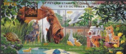 Australia 1996 Pets Sc 1563d Mint Never Hinged Ovpt PETS- St Peters - Mint Stamps